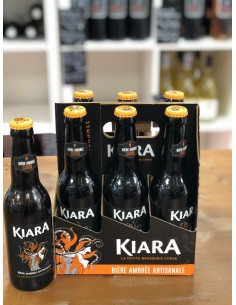 Bière Kiara Ambrée à la...